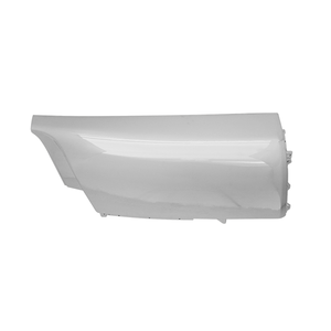 ISUZU FORWARD CORNER BUMPER (WHITE/CHROMED)