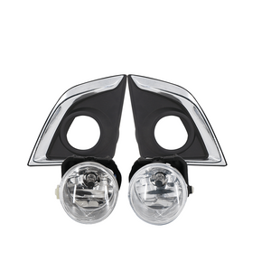 DMAX2017 FOG LAMP COVER(CHROME)