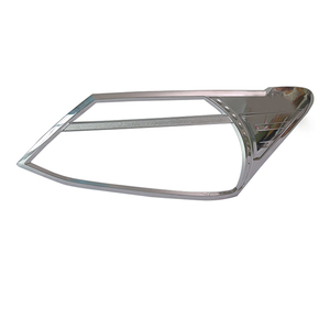 HEAD LAMP COVER CHROMED